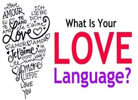 What your love language is.